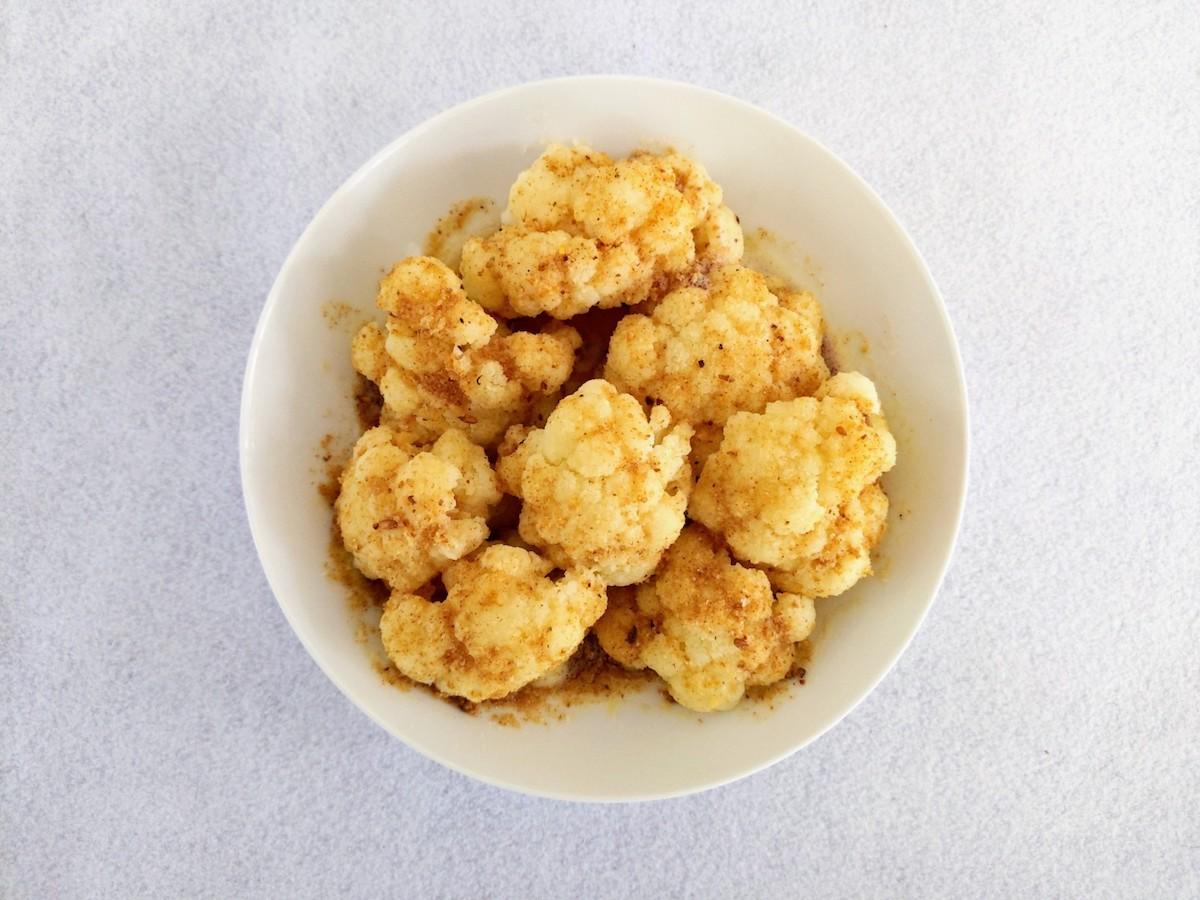 Puķu kāposti ar brūnu sviestu (Cauliflower with Brown Butter)